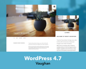 WordPress 4.7 Come with New Theme