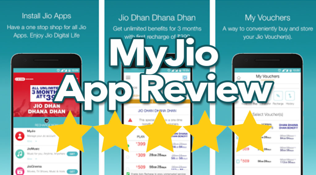 My Jio App Review